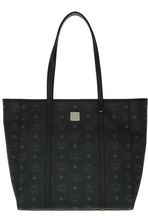 MCM Damen Shopper - Shopper Toni Visetos Shopper Medium Black