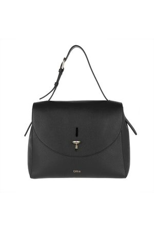 Furla Satchel Bag Net M Top Handle Nero