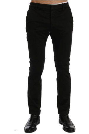 Costume National Slim Fit Cotton Stretch Pants , Herren, Größe: 52 IT