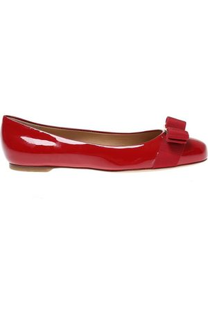 Salvatore Ferragamo Varina' leather ballet flats , Damen, Größe: US 9.5