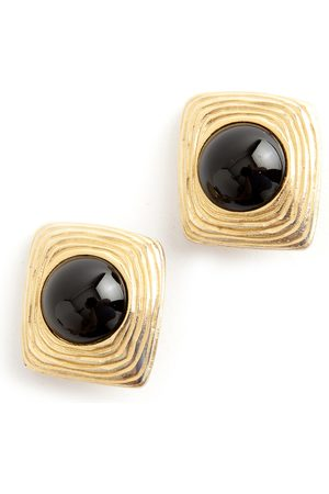 Givenchy Square clip on earrings , Damen, Größe: One size