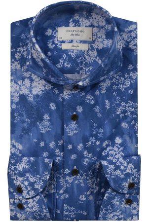 Profuomo Slim fit shirt , unisex, Größe: 39