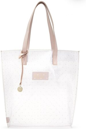 RED Valentino Transparent shopper bag , Damen, Größe: One size