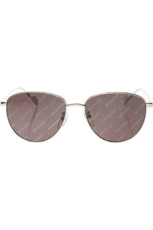 Balenciaga Logo sunglasses , Herren, Größe: One size