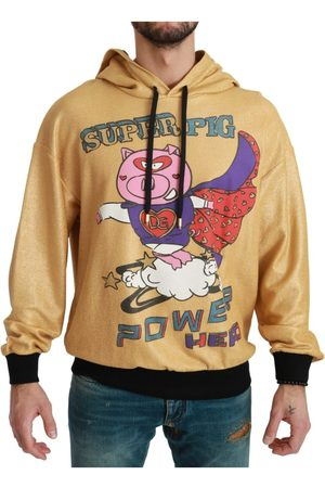 Dolce & Gabbana Pig of the Year Hooded Sweater , Herren, Größe: 46 IT