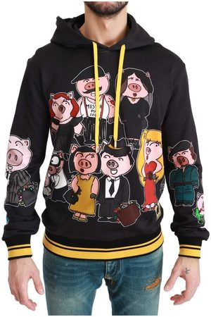 Dolce & Gabbana Pig of the Year Hooded Sweater , Herren, Größe: 52 IT