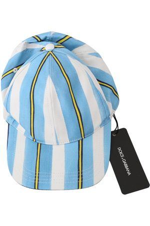 Dolce & Gabbana Stripes Baseball Cotton Cap , Herren, Größe: S
