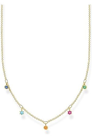 Thomas Sabo Halskette Necklace Colored Stones gold