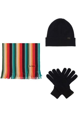 Paul Smith Hat, scarf & gloves set , Herren, Größe: One size