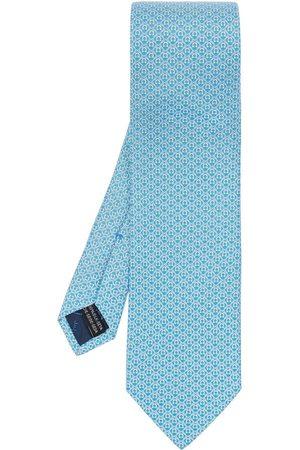 Salvatore Ferragamo Patterned tie , Herren, Größe: One size
