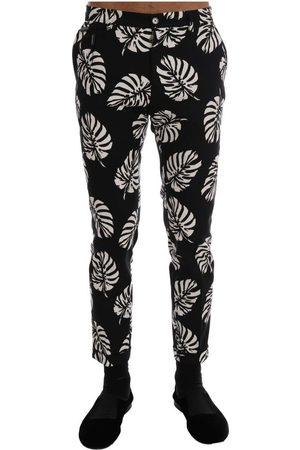 Dolce & Gabbana Stretch Slim Pants , Herren, Größe: M