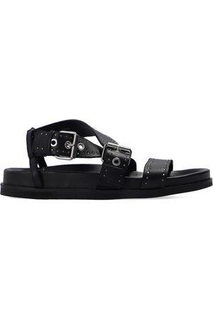 AllSaints Nina leather sandals , Damen, Größe: 40