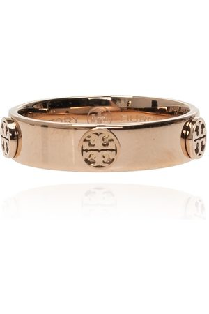 Tory Burch Logo-embossed ring , Damen, Größe: 5