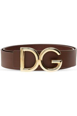 Dolce & Gabbana Logo belt , Herren, Größe: 100 cm