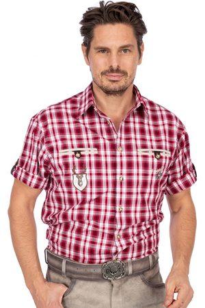 OS-TRACHTEN Herren Trachtenhemden - Trachtenhemd EDDI karo mix Halbarm