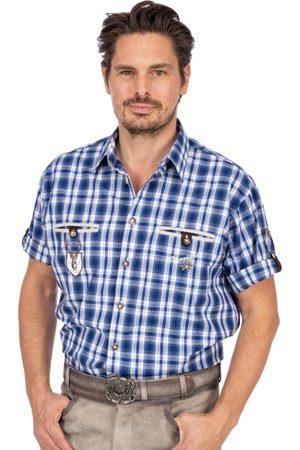 OS-TRACHTEN Herren Trachtenhemden - Trachtenhemd EDDI Halbarm