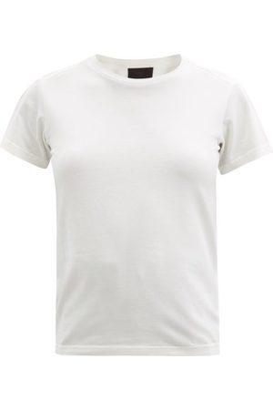 Moncler Logo-tab Cotton-jersey T-shirt