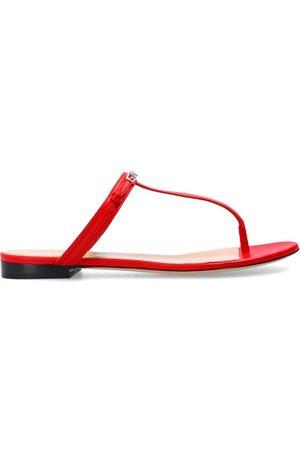 Givenchy Logo flip-flops , Damen, Größe: 39