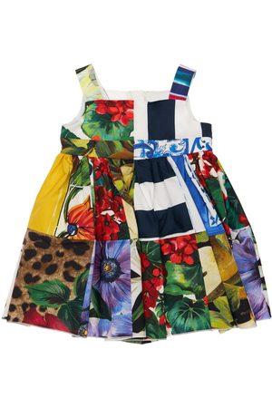 Dolce & Gabbana Kleid Und Höschen Aus Baumwolle Mit Druck