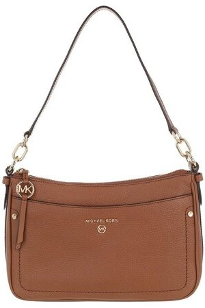 Michael Kors Pochettes Jet Set Charm Pochette Handbag Medium Leather cognac