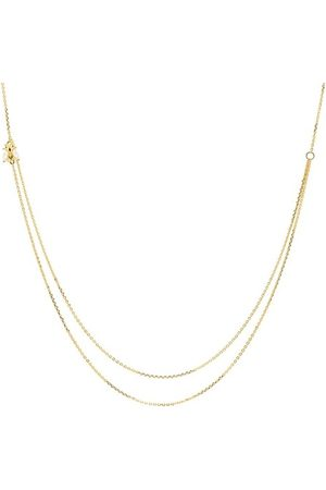 PDPAOLA Halskette Necklace BREEZE Yellow Gold gelbgold