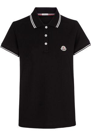 Moncler Poloshirt aus Baumwoll-Piqué