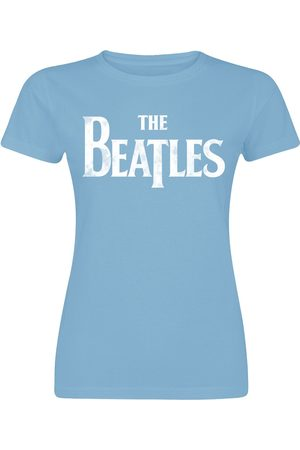The Beatles Sgt Pepper's Distressed T-Shirt hellblau