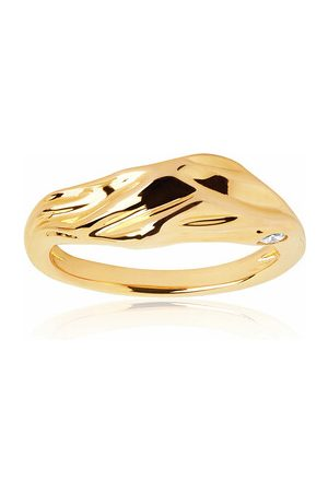 Sif Jakobs Jewellery Ring Vulcanello Ring Yellow Gold gold