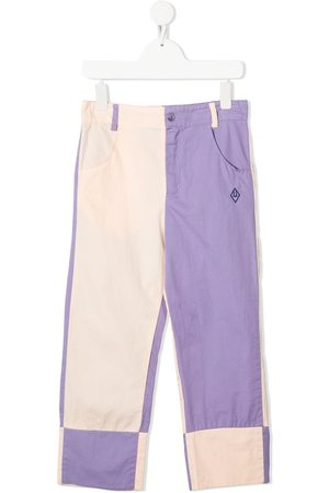 The Animals Observatory Gerade Jeans in Colour-Block-Optik