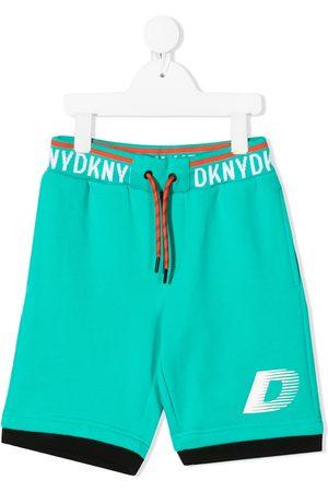 DKNY Bermudas mit Logo-Streifen