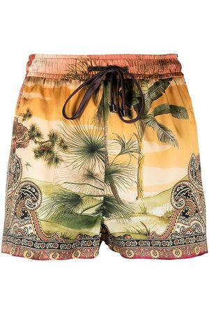 F.R.S For Restless Sleepers Shorts mit Paisley-Print