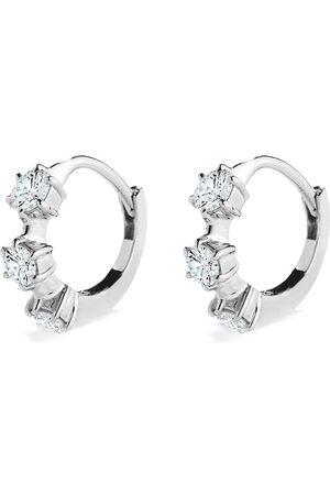 Jade Trau 18kt Weißgoldohrringe mit Diamanten
