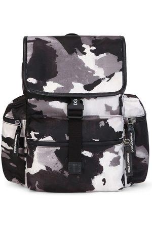 Dolce & Gabbana Rucksack mit Camouflagemuster