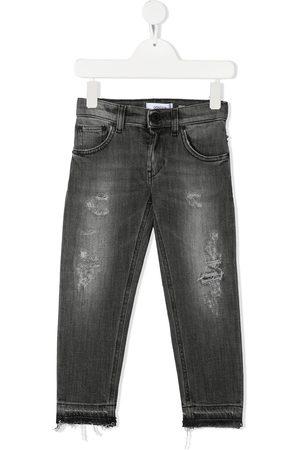 Dondup Kids Jungen Skinny - Skinny-Jeans im Distressed-Look