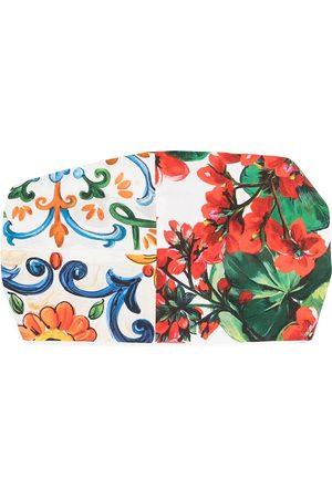 Dolce & Gabbana Haarband mit Majolika-Print