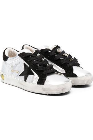 Golden Goose Kids Superstar Sneakers im Used-Look