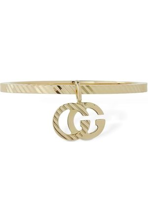 GUCCI 18 Kt Goldener Gg-ring