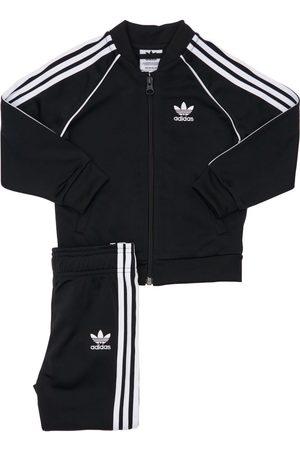 adidas Trainingsjacke & Hose Aus Recyceltem Technostoff
