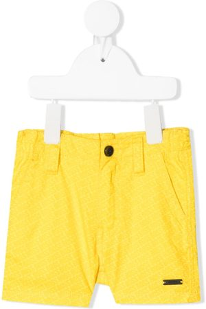 HUGO BOSS Shorts - Shorts mit Logo-Print