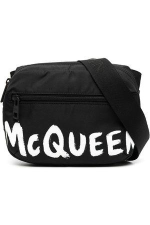 Alexander McQueen Herren Umhängetaschen - Schultertasche mit Logo