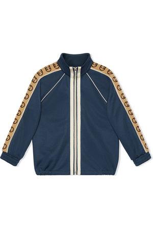 Gucci Trainingsjacke mit Logo-Streifen