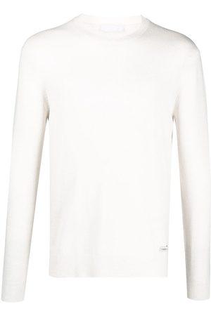 Prada Pullover mit Logo-Patch