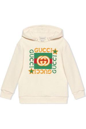Gucci Hoodie mit Logo-Print