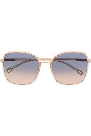 Chloé Eckige Franky Sonnenbrille