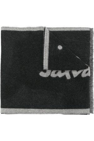 Salvatore Ferragamo Intarsien-Schal mit Logo