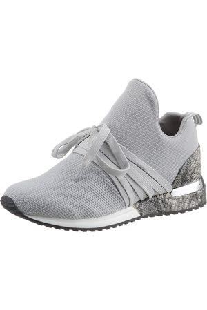 La Strada »Fashion Sneaker« Slip-On Sneaker mit glänzendem Metallicbesatz am Absatz
