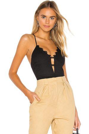 superdown Janice Lace Bodysuit in . Size XXS, XS, S, M, XL.