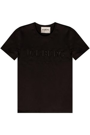 Iceberg Logo T-shirt , Damen, Größe: 40 IT