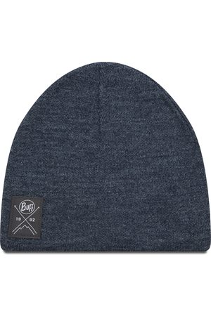 Buff Knitted & Polar Hat 113519.787.10.00 Solid Navy