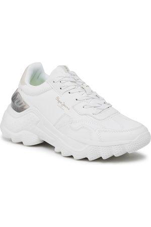 Pepe Jeans Damen Halbschuhe - Eccles Fenix PLS31165 Off White 803